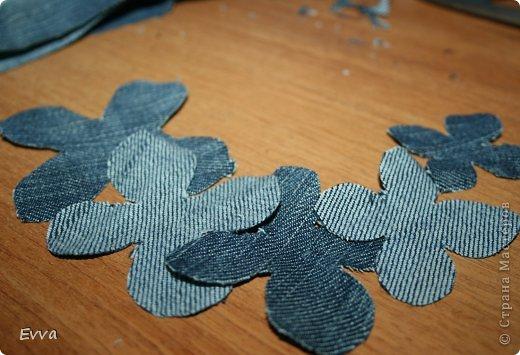 5 способов сделать цветок из джинса