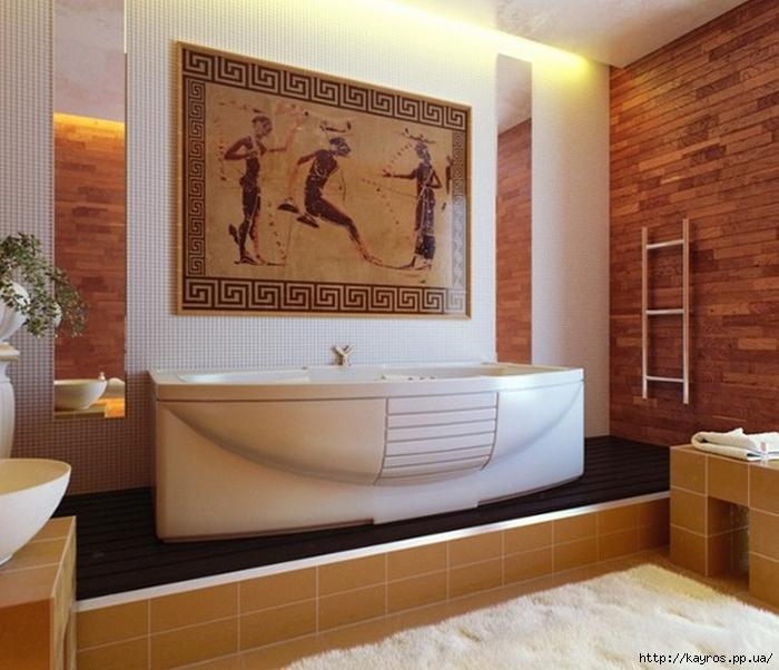 Необычный дизайн интерьера ванных 4 (700x602, 273Kb)
