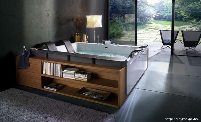 Необычный дизайн интерьера ванных 8 (700x423, 202Kb)