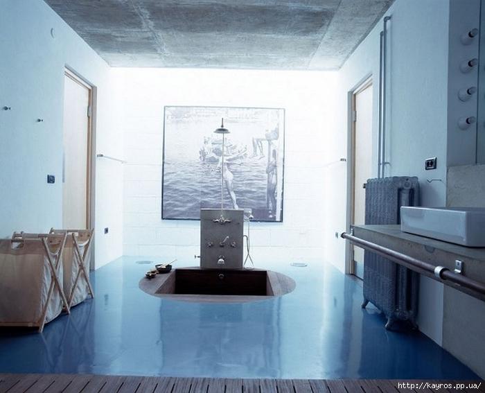 Необычный дизайн интерьера ванных 11 (700x567, 221Kb)
