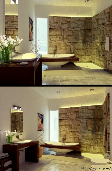 Необычный дизайн интерьера ванных 13 (460x700, 236Kb)