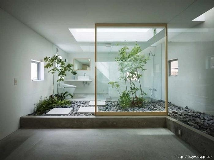 Необычный дизайн интерьера ванных 15 (700x523, 198Kb)