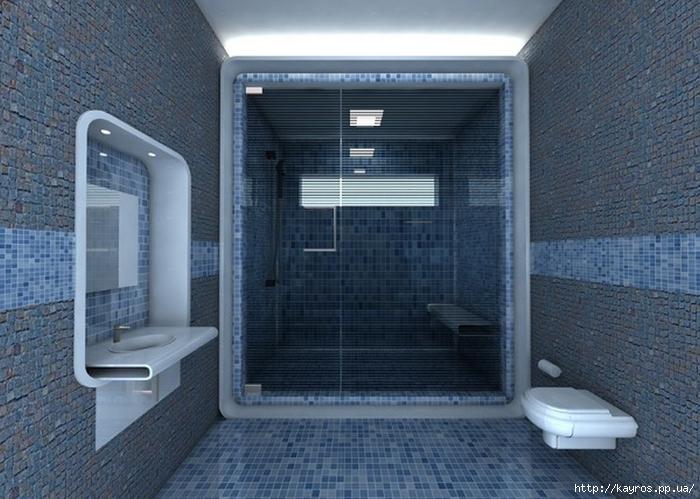 Необычный дизайн интерьера ванных 17 (700x499, 263Kb)