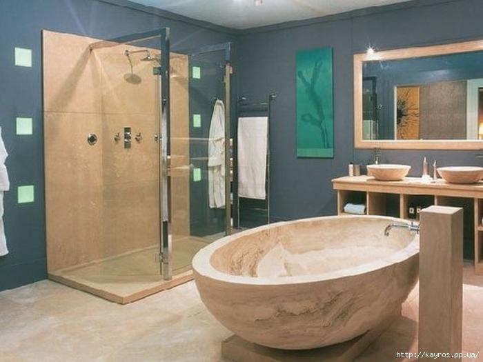 Необычный дизайн интерьера ванных 23 (700x525, 209Kb)