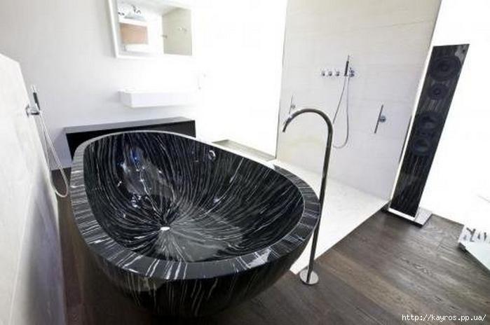 Необычный дизайн интерьера ванных 28 (700x464, 161Kb)