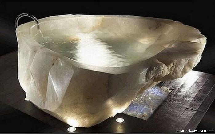Необычный дизайн интерьера ванных 30 (700x437, 174Kb)