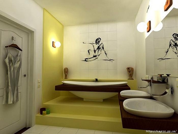 Необычный дизайн интерьера ванных 32 (700x525, 189Kb)