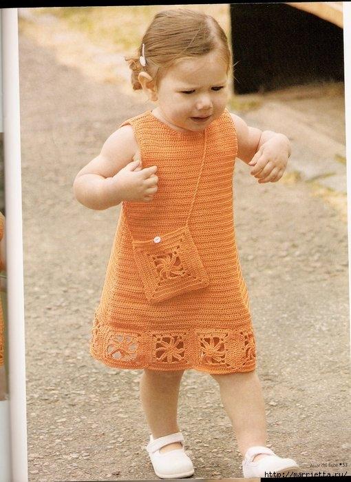 платье для девочки крючком (20) (510x699, 212Kb)