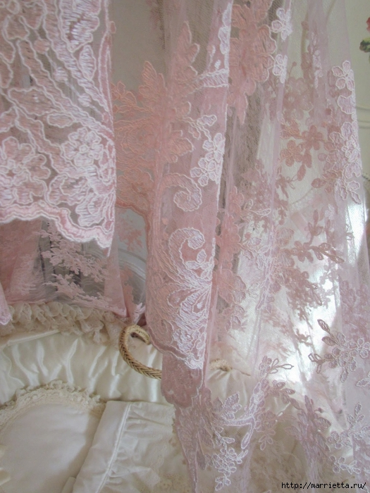 Очень красивая идея оформления кроватки для новорожденного (11) (525x700, 281Kb)