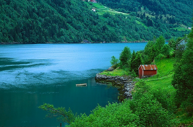 норвежские фьорды фото Sognefjorden 6 (670x440, 377Kb)