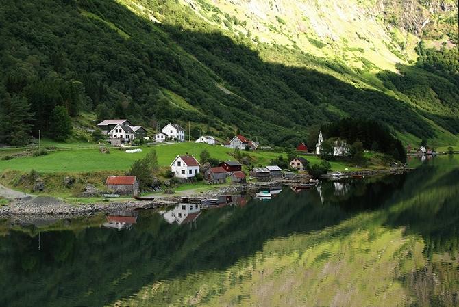 норвежские фьорды фото Sognefjorden 7 (670x449, 298Kb)