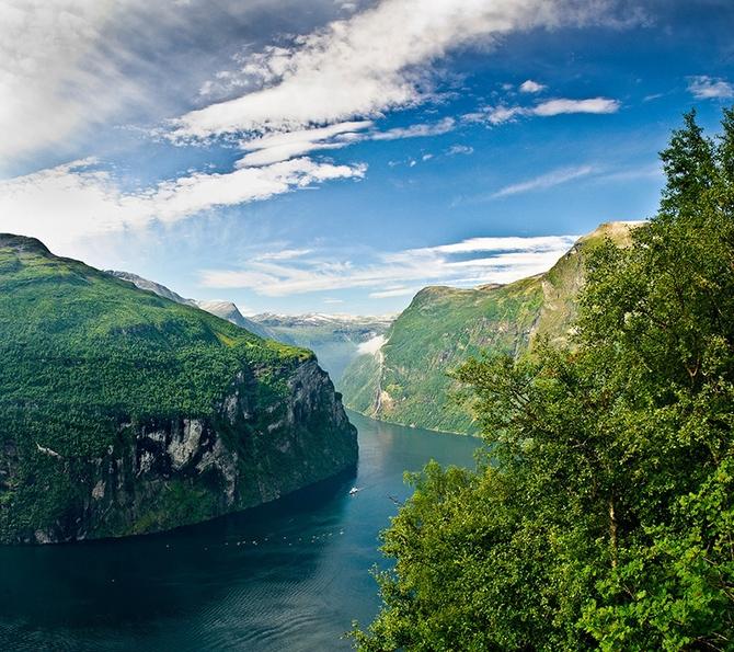 норвежские фьорды фото Geirangerfjorden 4 (670x595, 447Kb)