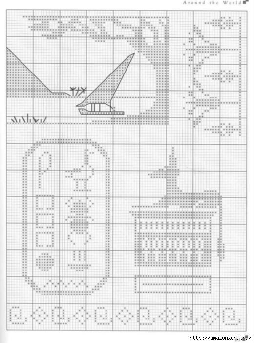 Подушки с вышивкой. Тематика - САФАРИ, ЕГИПЕТ (6) (520x700, 191Kb)