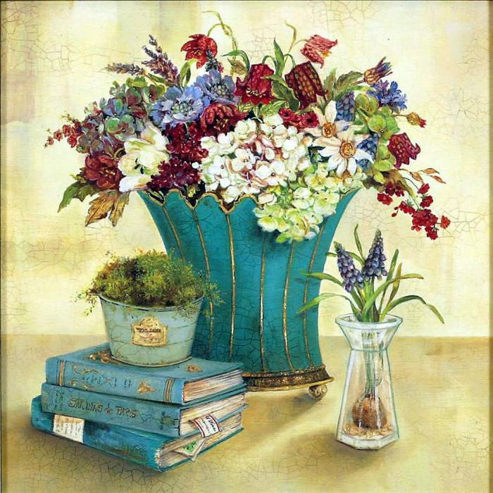 Картинки для декупажа цветы прованс 1