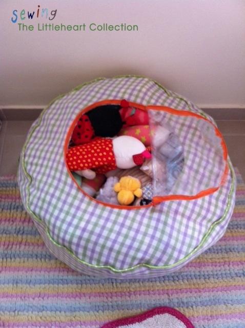 Детский пуфик - органайзер для мягких игрушек. Шьем сами (9) (478x640, 180Kb)
