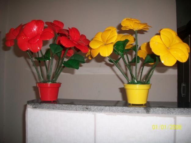цветы из пластиковых бутылок (19) (625x469, 96Kb)