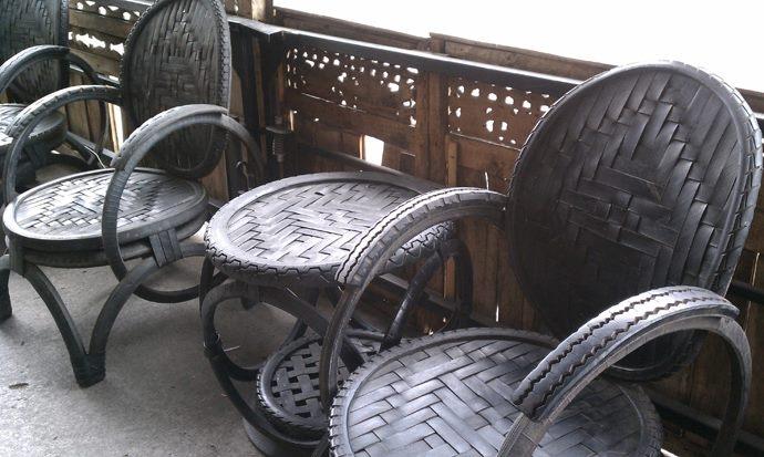 использование бросового материала в интерьере дома и на даче (73) (690x413, 163Kb)