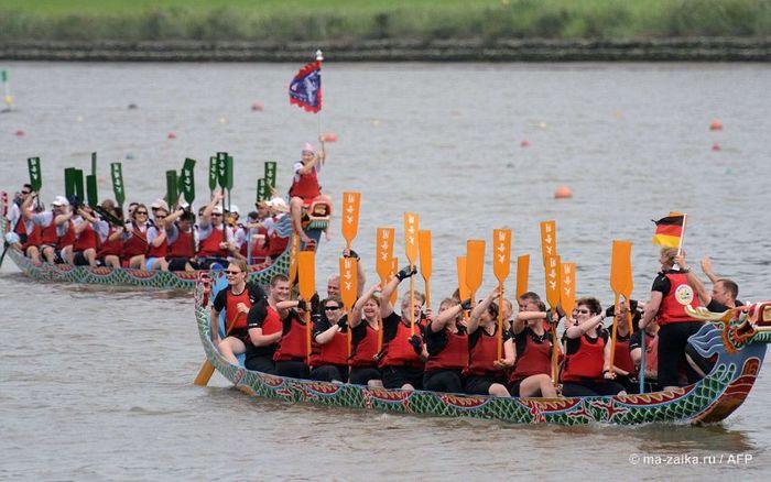 фестиваль драконьих лодок