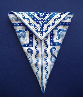 Вышивка крестом, схемы Футляр