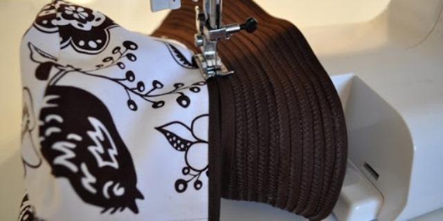 Сшить кепку с полями смещения ленты