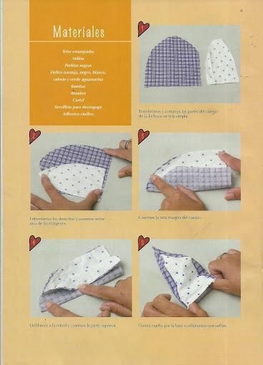 игрушки из ткани с выкройками. совушки (6) (368x512, 110Kb)