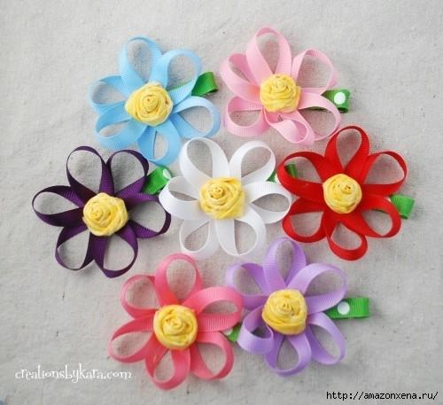 Мастер-классы по созданию цветов из ткани - украшений для маленьких принцесс (80) (500x457, 144Kb)