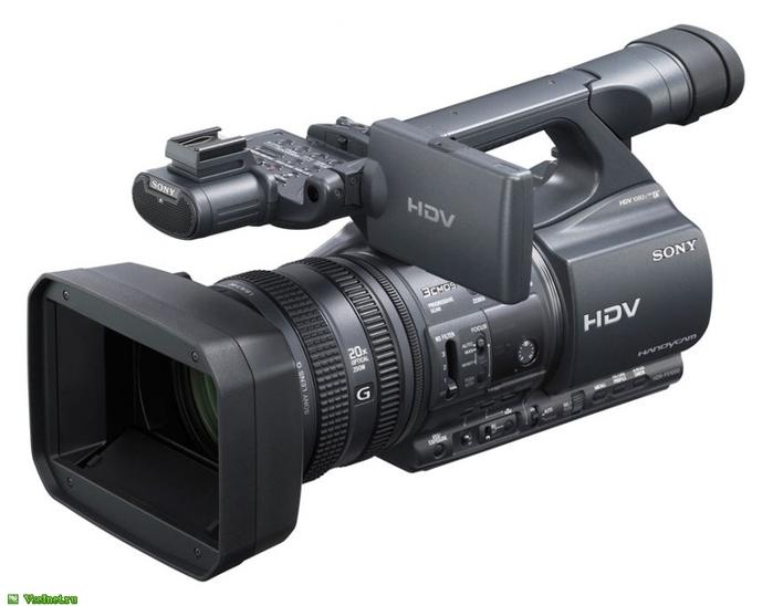 1Видеокамера Sony HDR-FX1000E чёрная (700x548, 122Kb)