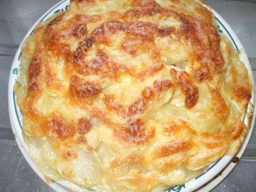 Рыба с картофелем запеченные под майонезом (500x375, 158Kb)