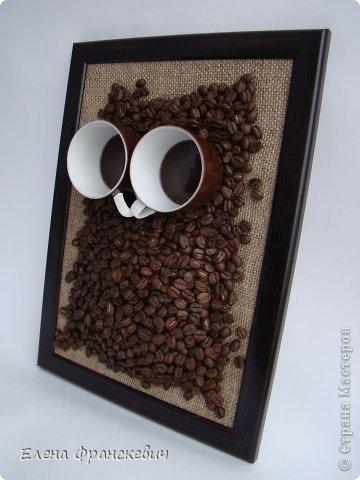 сова из кофейных зерен (3) (360x480, 83Kb)
