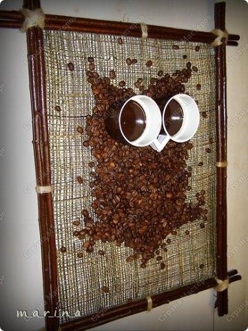 сова из кофейных зерен (5) (360x480, 138Kb)