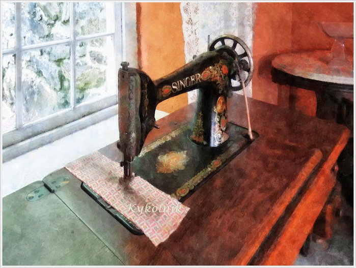 Susan Savad «Sewing machine» (700x527, 154Kb)