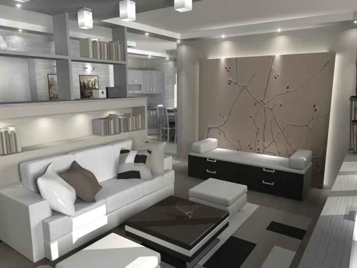Дизайн квартиры однокомнатной, фото Как построить и отремонтировать самому