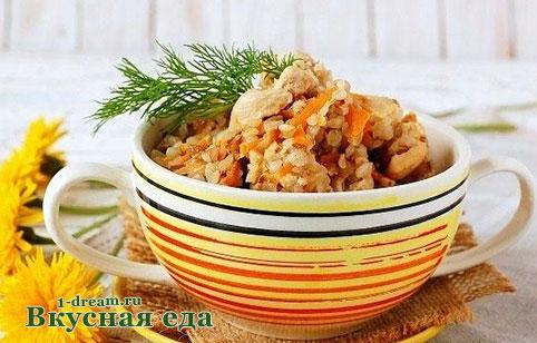 филе с гречкой в мультиварке рецепты с фото