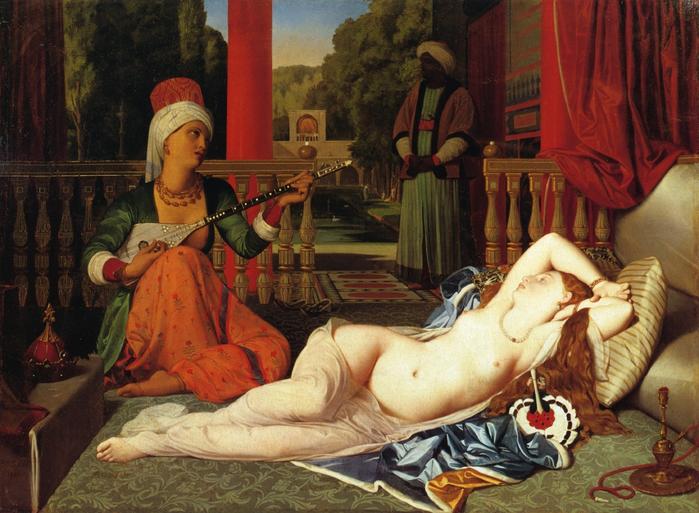 Сексуальный голод в гареме