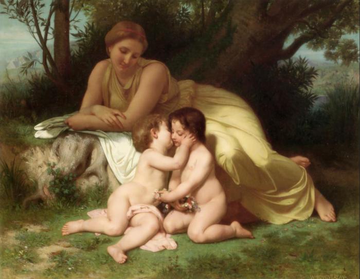 Вильям-Адольф Бугеро. Французская живопись (10) (700x543, 512Kb)