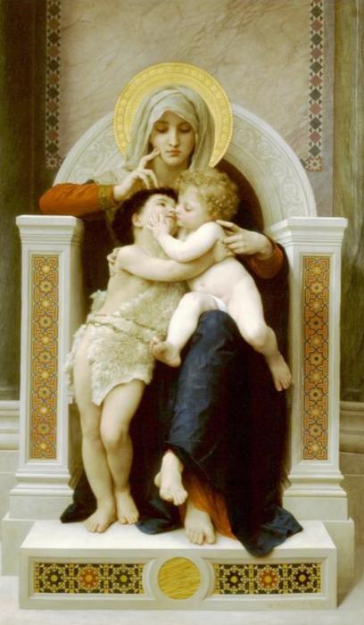 Вильям-Адольф Бугеро. Французская живопись (11) (408x700, 396Kb)