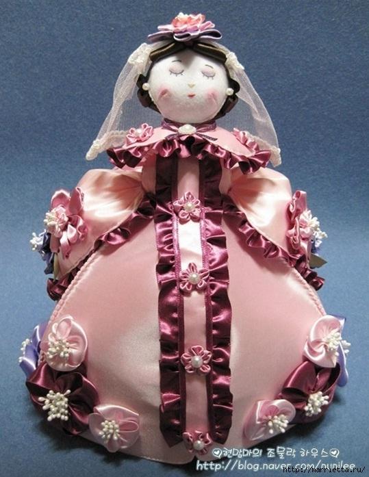 Французскую мадам на корейский лад сошьем Мастер-класс по пошиву куклы (1) (539x697, 253Kb)