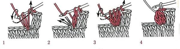 Как связать крючком куколку амигурами. Мастер-класс (30) (600x163, 74Kb)