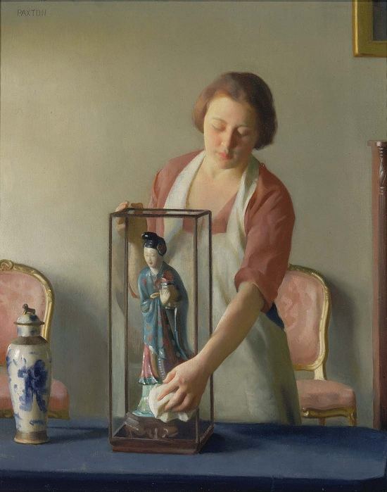 William_McGregor_Paxton_-_The_Figurine_1921 (550x700, 233Kb)