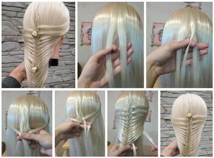 Необычное плетения косичек видео