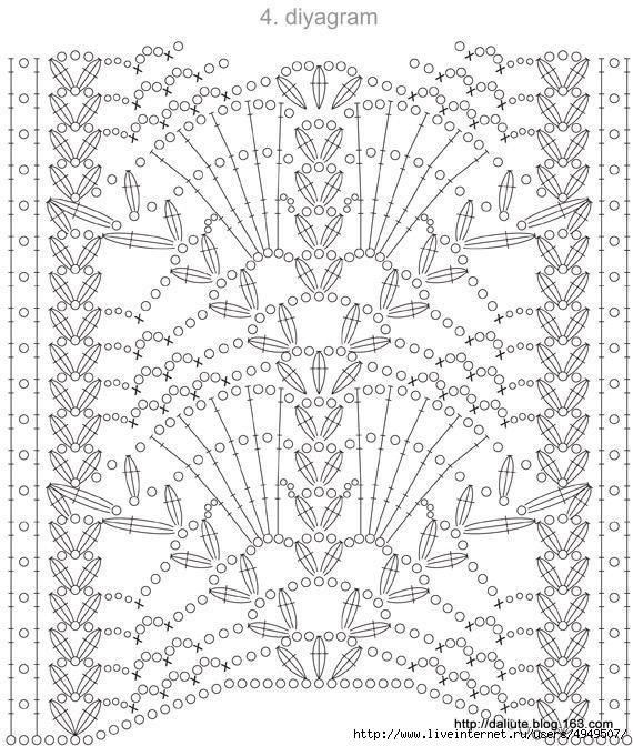 Схема вышивки крестом корзина с васильками