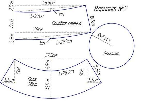 летняя панама для ребенка (5) (604x427, 112Kb)