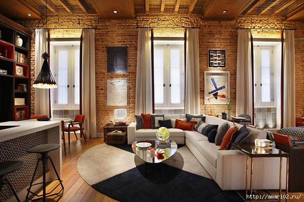 LookAtHome.ru-apartment-brick-interior-1 (600x400, 237Kb)