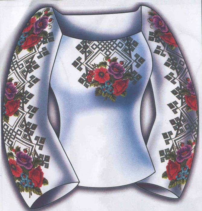 Вышиваем сорочку