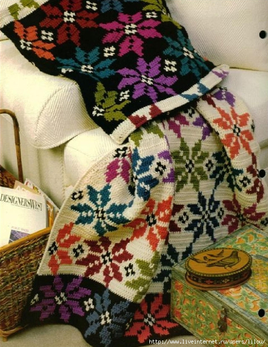 Sierra Snow Afghan & Pillow_4 (540x700, 346Kb)