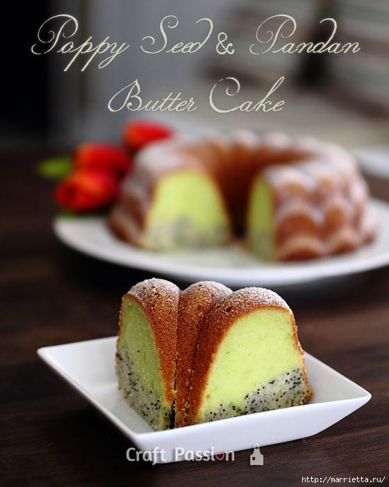 Рецепт макового кекса с яблоками и вишней (11) (560x700, 231Kb)