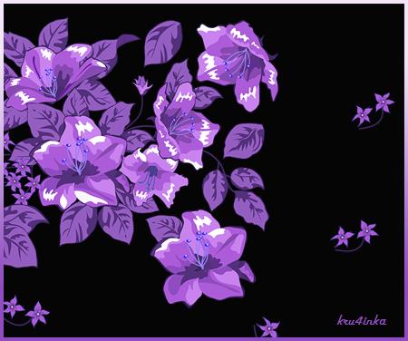 Сиреневые-цветы-на-черном (450x376, 152Kb)