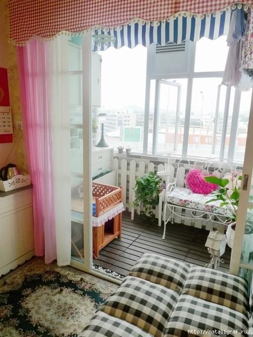 Маленькие балконы: много идей. обсуждение на liveinternet - .