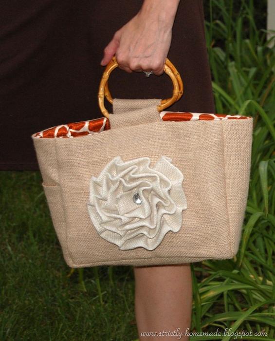 Летняя сумка из мешковины своими руками (21) (565x700, 395Kb)