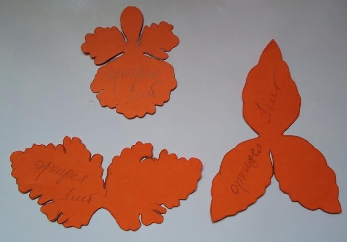 как сделать цветы орхидеи из ткани (12) (700x489, 166Kb)